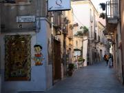 Sicilya'nın İncisi Taormina Sokakları Yapbozu
