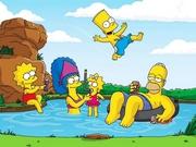Simpsonlar Denizde Yapboz