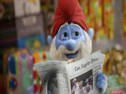 Şirinbaba Gazete Okuyor Yapbozu Oyna