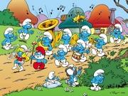 Şirinler Orkestrası Oyna