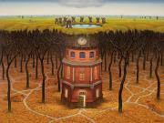 Subconsciousness Kulesi-Jacek Yerka Yapbozu Oyna