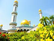 Sultan Ömer Ali Seyfettin Cami-Borneo Yapbozu Oyna