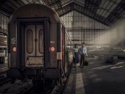 Tren Garında Veda Yapbozu Oyna