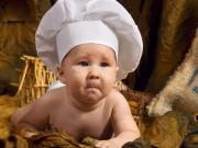 Üzgün Aşçı Bebek Yapbozu Oyna