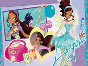 Winx-Hareketsiz Kalamayan Layla Yapbozu Oyna