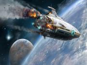 Yanan Uzay Mekiği Yapbozu Oyna