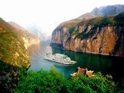 Yangtze Nehrinde Tekne Turu Yapboz