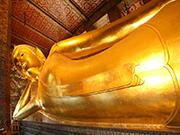 Yatan Buda Tapınağı Yapbozu Oyna