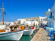 Yunanistan'da Tekneler Yapbozu Oyna